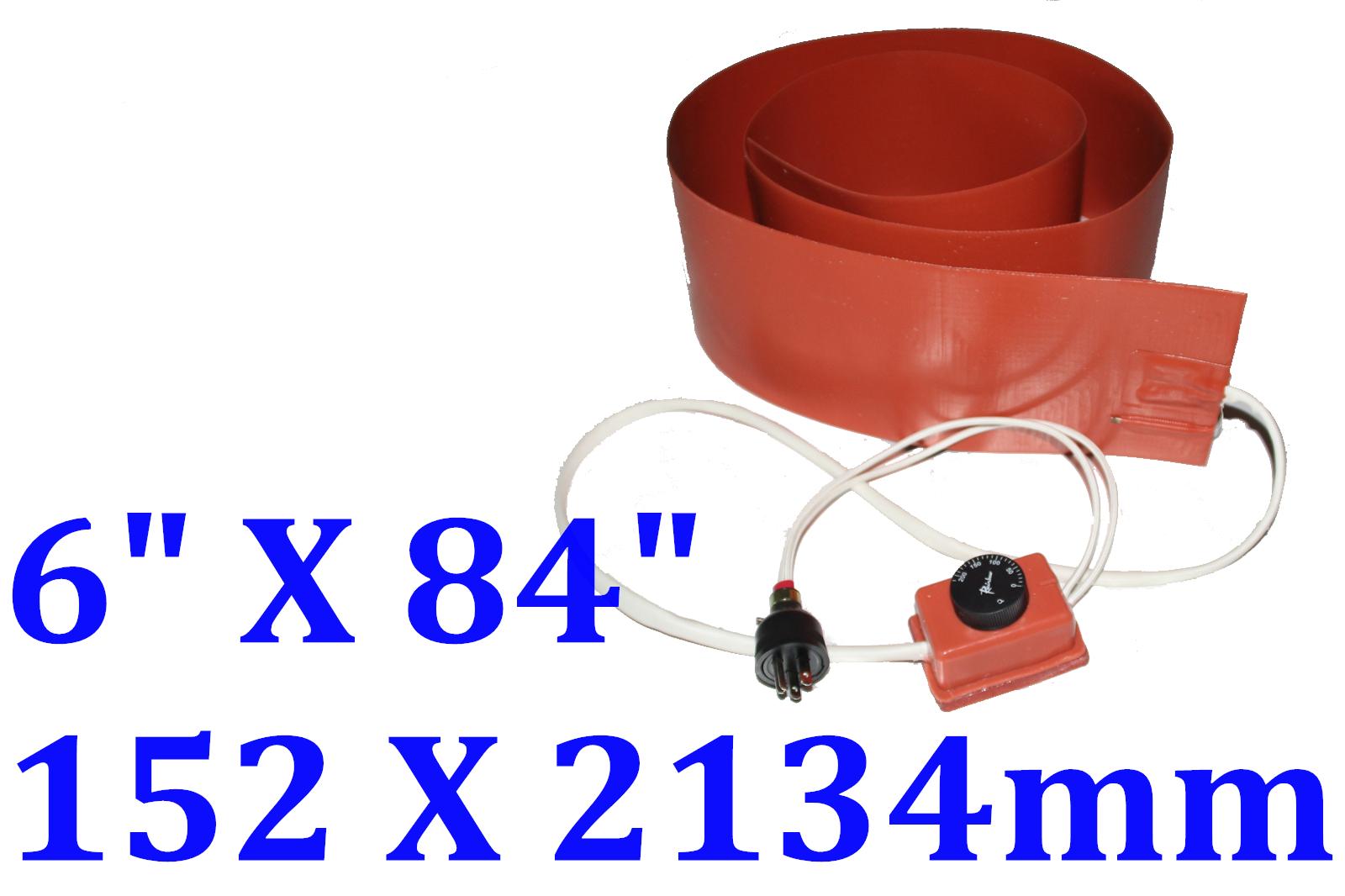 "6"" X 84"" 152 X 2134mm 120V 2400W  w/ Control Plug Guitar Bending Heating Blanket"