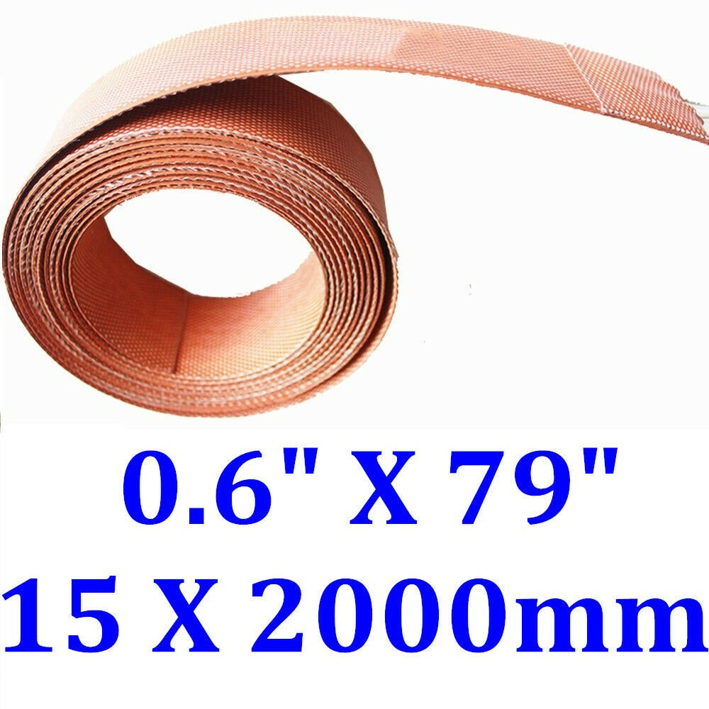 "0.6"" X 79"" 15 X 2000mm 150W Strip Pipe Tube Heating Belt CE UL Silicone Heater"
