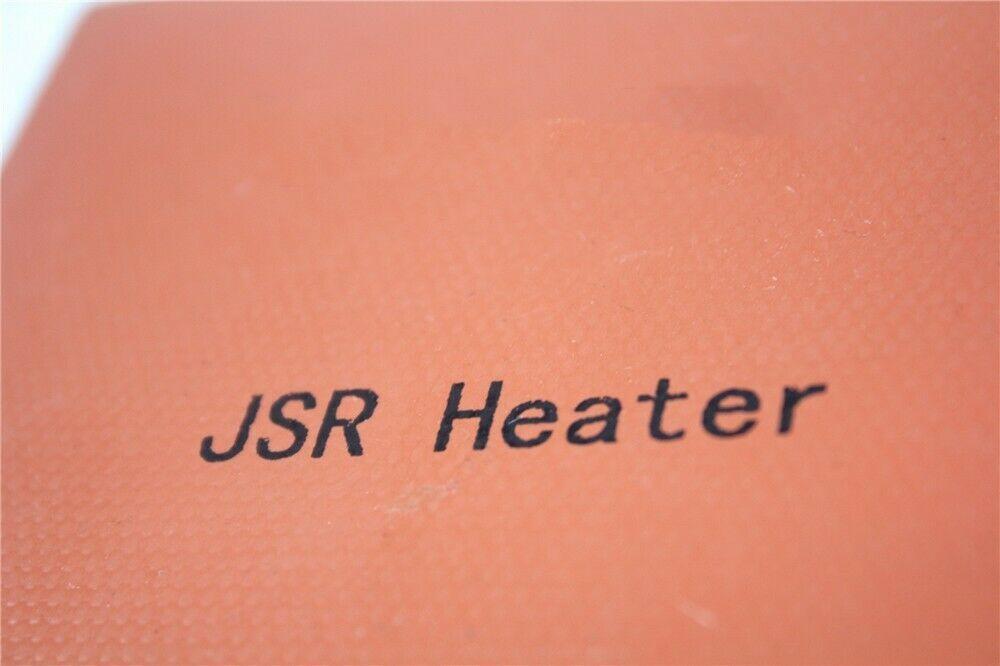 "4"" X 8"" 102 X 203mm 110V 150W NO 3M w/ 4 eyelets w/ plug JSR2 CE Silicone Heater"
