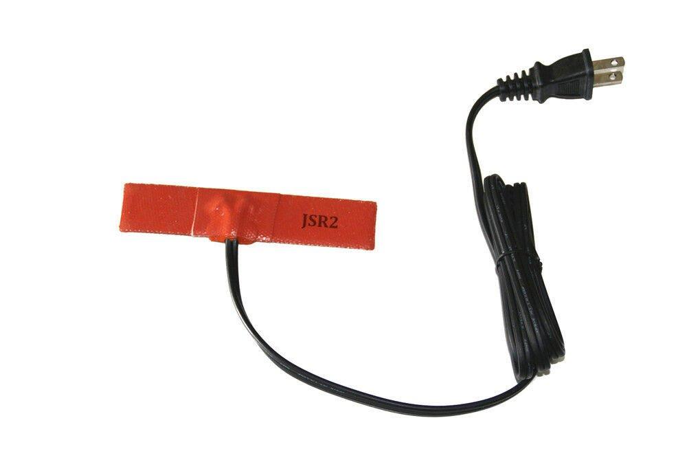 """1"""" X 6"""" 25 X 152mm 120V 15W w/ Plug Tape Bridge Repair JSRGO Heating Blanket"""