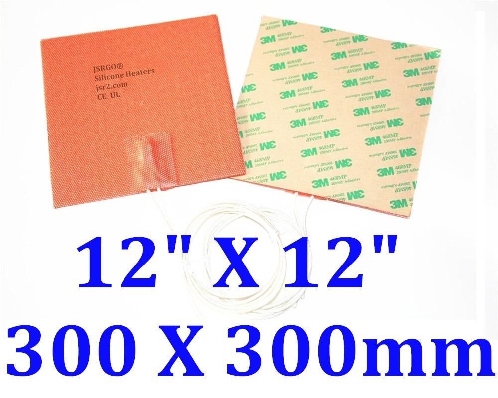 "12"" X 12""  300 X 300mm 300W w/ 3M Factory Direct Sale CE UL JSRGO Heater"
