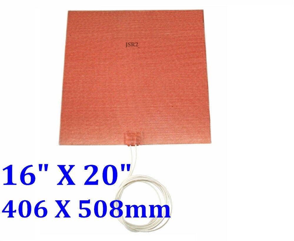 "16"" X 20"" 406 X 508mm 120V 750W Pad heater Factory Direct Sale CE UL Heater"