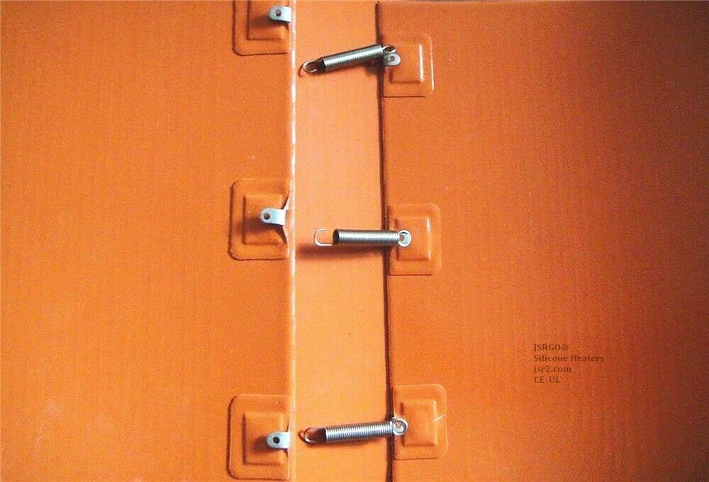 """4"""" X 31"""" 102 X 790mm 120V 300W w/ Adjustable Barrel Tank Bucket Pail Belt Heater"""