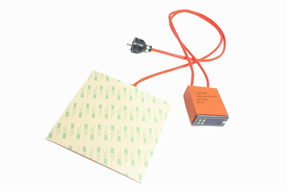 """4.72"""" X 4.72"""" 120 X 120mm 100W M3D Micro 3D Printer Silicone Heated Build Plate"""