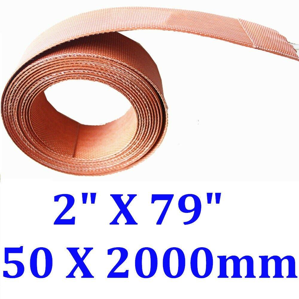 """2"""" X 79"""" 50 X 2000mm 180W Archery Longbow Bending Heater CE Silicone Heat Strip"""