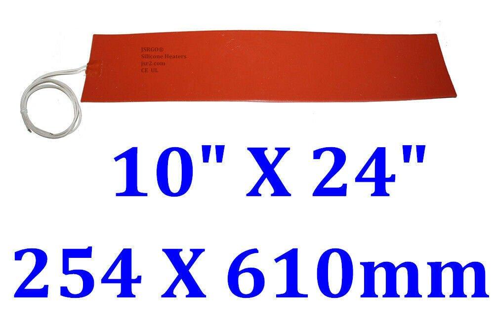 "10"" X 24"" 254 X 610mm 670W Snow Ski Board Press Mold Silicone Heating Blanket"
