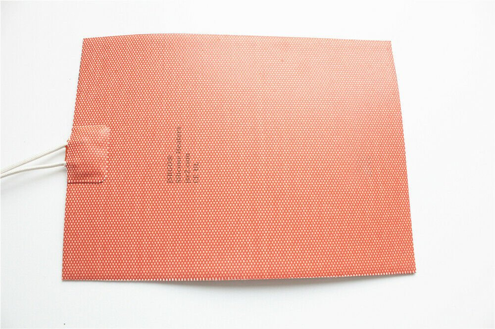 """7.7"""" X 15.6"""" 195 X 395mm 1300W w/ 3M Universal CE UL JSRGO Silicone Heater Pad"""